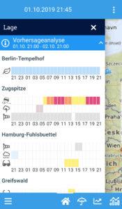 Einsatzwetter-App für Winterdienste und Sommerdienste Wetterwarnungen